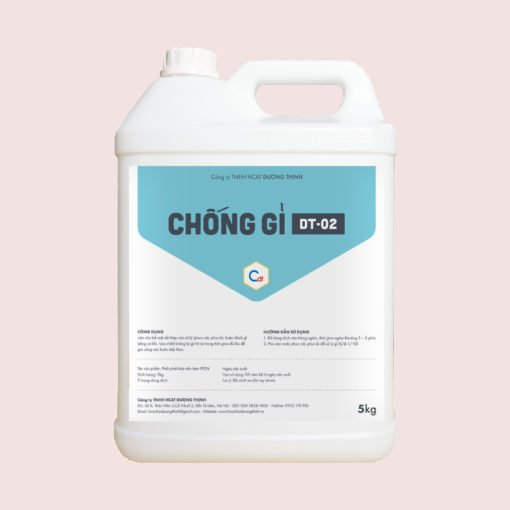 Hóa chất chống gỉ sắt thép DT-02