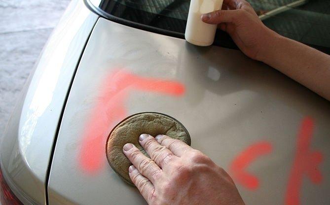 Cách tẩy sơn bám trên bề mặt ô tô