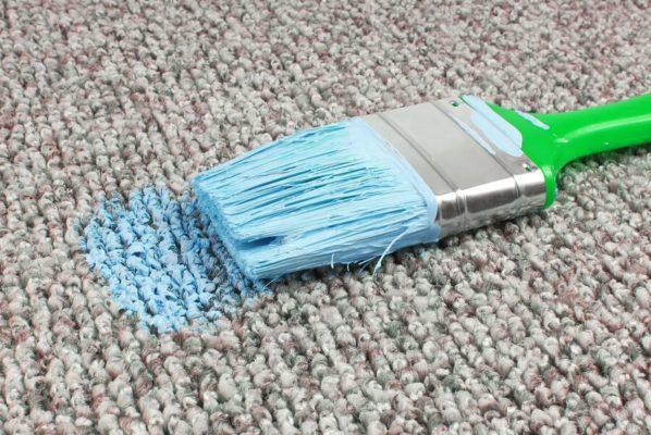 Cách tẩy sơn cho từng loại bề mặt thảm vải