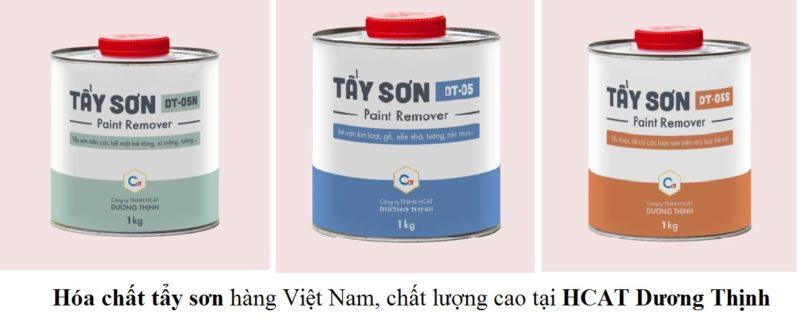 Bán hóa chất tẩy sơn hàng Việt, chất lượng cao tại Hà Nội